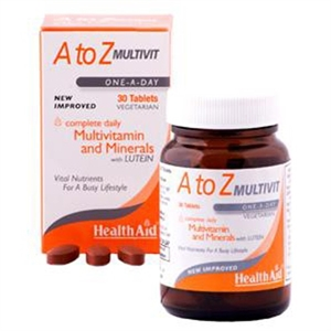 HealthAid A to Z Multivit 30 tablet
