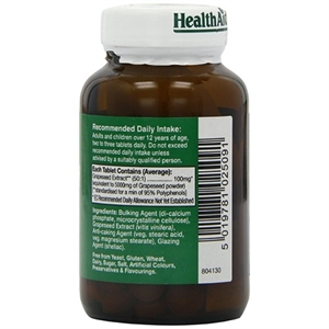 HealthAid Grapeseed Extract 5000mg 60 tablet