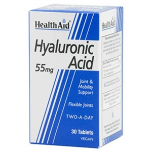 HealthAid Hyalluronic Acid 55mg 30 tablet