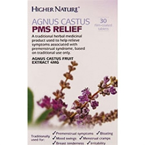 Higher Nature Agnus Castus PMS Relief 30g