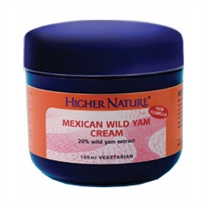 Higher Nature Mexican Yam Cream 100ml