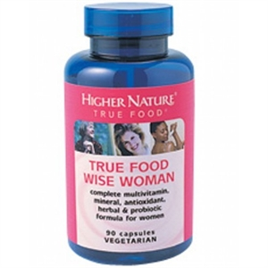 Higher Nature True Food Wise Woman 90 capsule