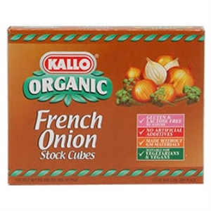 Kallo French Onion Stock Cubes 66g