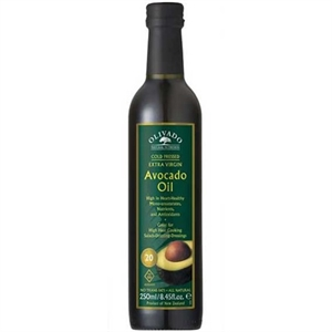 Olivado Extra Virgin C/P Avocado Oil 250ml