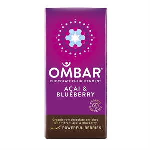 Ombar Blueberry & Acai Bar 35g