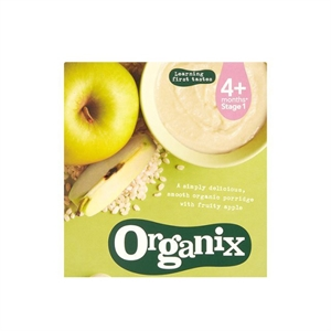 Organix Fruity Apple Cereal 120g