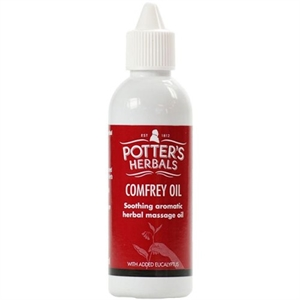 Potters Comfrey Oil with Eucalyptus 75ml