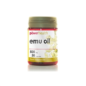 Power Health Emu Oil 500mg 30 capsule