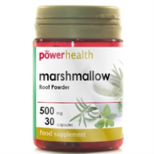 Power Health Marshmallow Root Powder 500mg 30 capsule