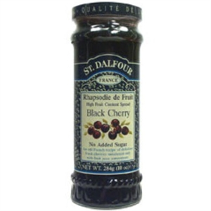 St Dalfour Black Cherry Fruit Spread 284g