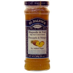 St Dalfour Pineapple & Mango Fruit Spread 284g
