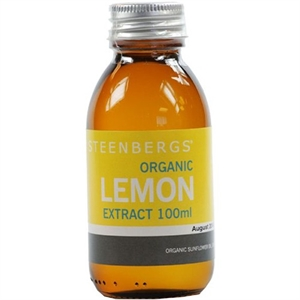 Steenbergs Org Lemon Extract 100g