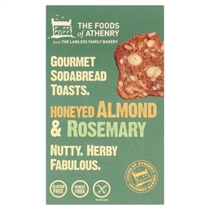 The Foods Of Athenry GF Almond, Rosemary Toasts 110g
