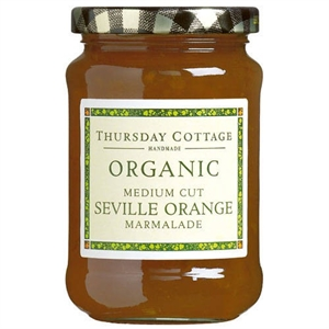 Thursday Cottage Organic Seville Orange Marm 340g