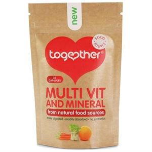 Together Health WholeVit Multivit & Mineral 30 capsule