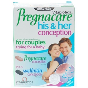 Vitabiotics Pregnacare His & Hers 60 tablet