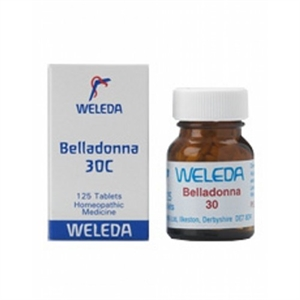 Weleda Belladonna 30c 125 tablet