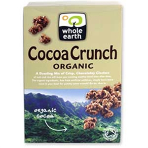 Whole Earth Organic Cocoa Crunch 375g