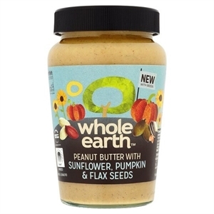 Whole Earth Peanut Butter + Mixed Seeds 340g
