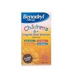 Benadryl Allergy Kids 6+ Oral Solution - 70ml