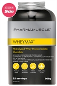 WHEYMAX Hydrolysed Whey Protein Isolate 908g 2 Tubs