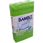 Beaming Baby Bambo Junior Nappies 54'spieces