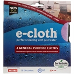 E-Cloth 4 General Purpose Cloths 4pack