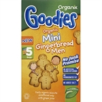 Organix Biscuits G/Bread Men 25g