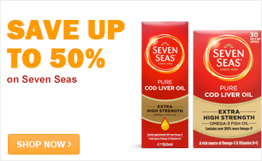 Save up to 50% on Seven Seas